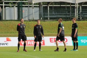 Image of Belgian National team training