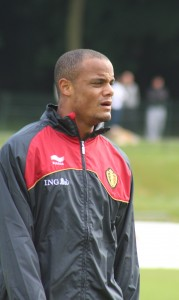 Vincent Kompany - a previous winner, when at Anderlecht
