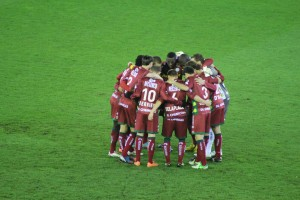 Francky Dury's Zulte Waregem - hoping to finally go top