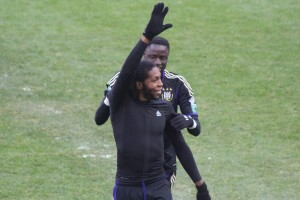 Anderlecht's Dieumerci Mbokani - suspended for four matches