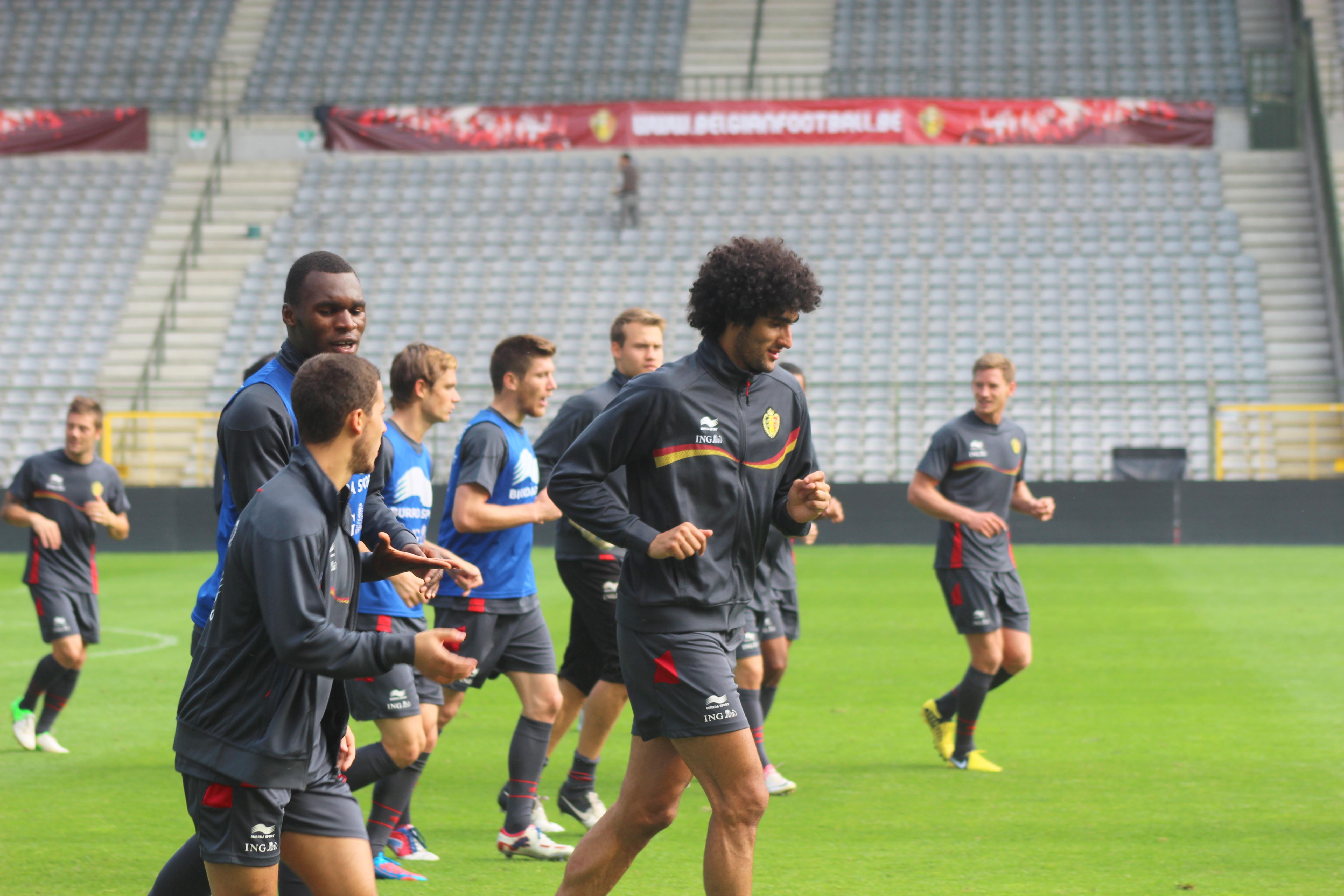 Team Belgium in June 2012