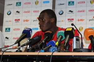 Christian Benteke is likely to be in the spotlight on Friday night