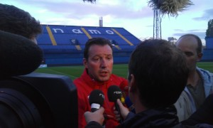 Marc Wilmots is likely to remain loyal to the players who got him to Brazil (Copyright - John Chapman)