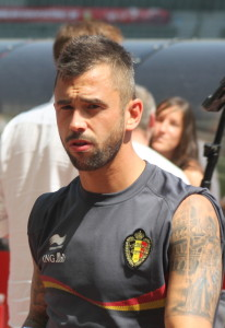 Steven Defour - his image has changed a tad since the days when Sir Alex wrote to him (copyright John Chapman).