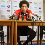 Axel Witsel - his yellow card is one of the reasons the team will be changed today (copyright John Chapman)