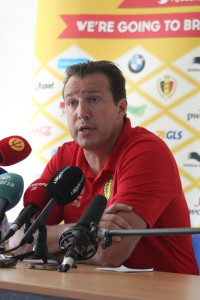 Wilmots is not revealing his team early.