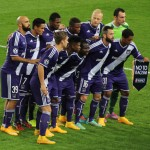 Anderlecht ready to go.