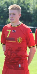 Kevin De Bruyne - seen as Belgium's main man (Copyright - John Chapman)