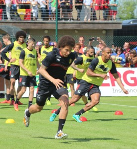 Axel Witsel - will lead from the back against Wales (Copyright - John Chapman)