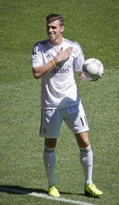 Gareth Bale in Real Madrid kit (Picture - Wikipedia)
