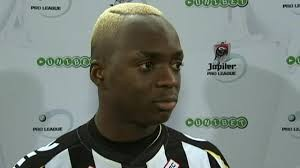 Neeskens Kebano - the main man for Charleroi. Image - RTBF