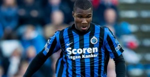 Obbi Oulare - turmed the game In Club Brugge's favour. (image - Voetbalprimeur.be)