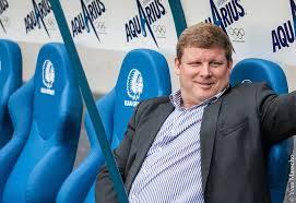 Hein Vanhaezebrouck - relaxing ahead of the new season  (picture - kaagent.be)