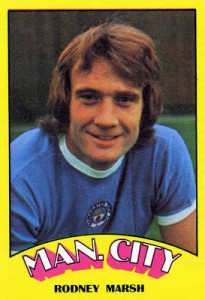 Rodney Marsh in his Manchester City days.