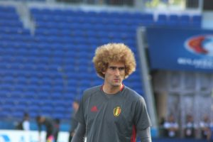 All eyes will be on Marouane Fellaini. (opyright John Chapman)
