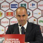 Roberto Martinez after the game with Bosnia (copyright John Chapman)